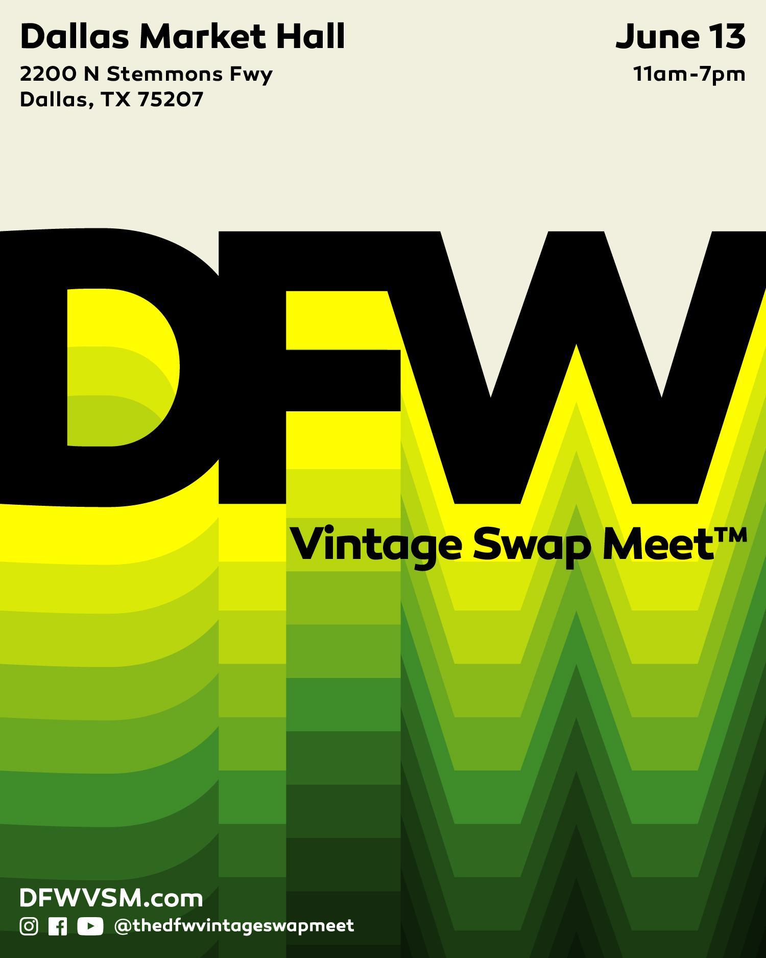 DFW Vintage Swap Meet #11 June 2020