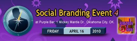 Social Branding Event - Oklahoma 4/16