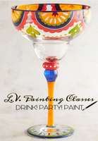 Drink! Party! Paint A Margarita Glass! 20200502