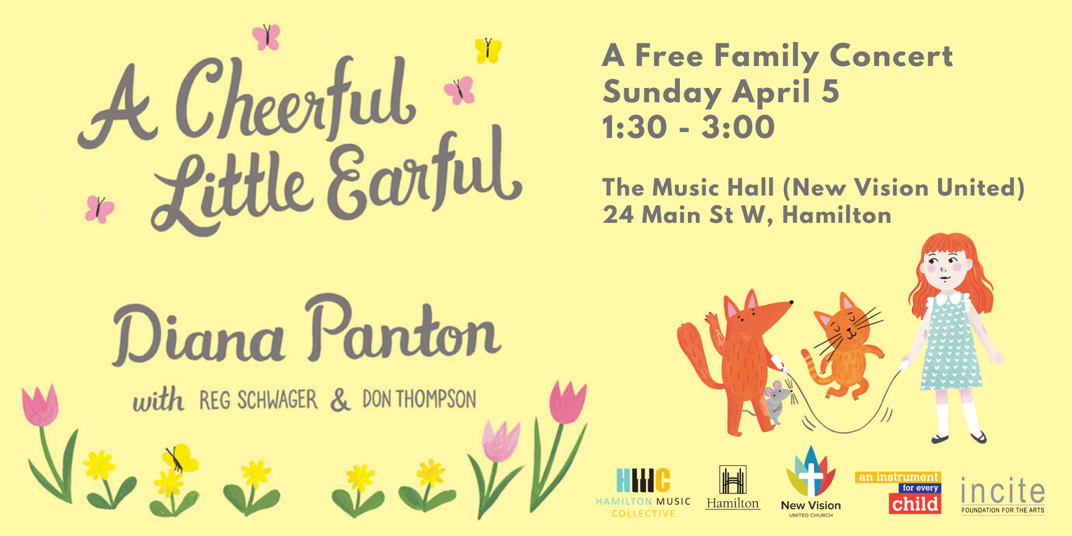 Diana Panton & HMC Present: A Free Spring Family Concert
