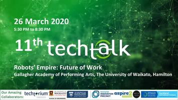 TechTalk #11 - Canceled due to concerns over COVID-19.