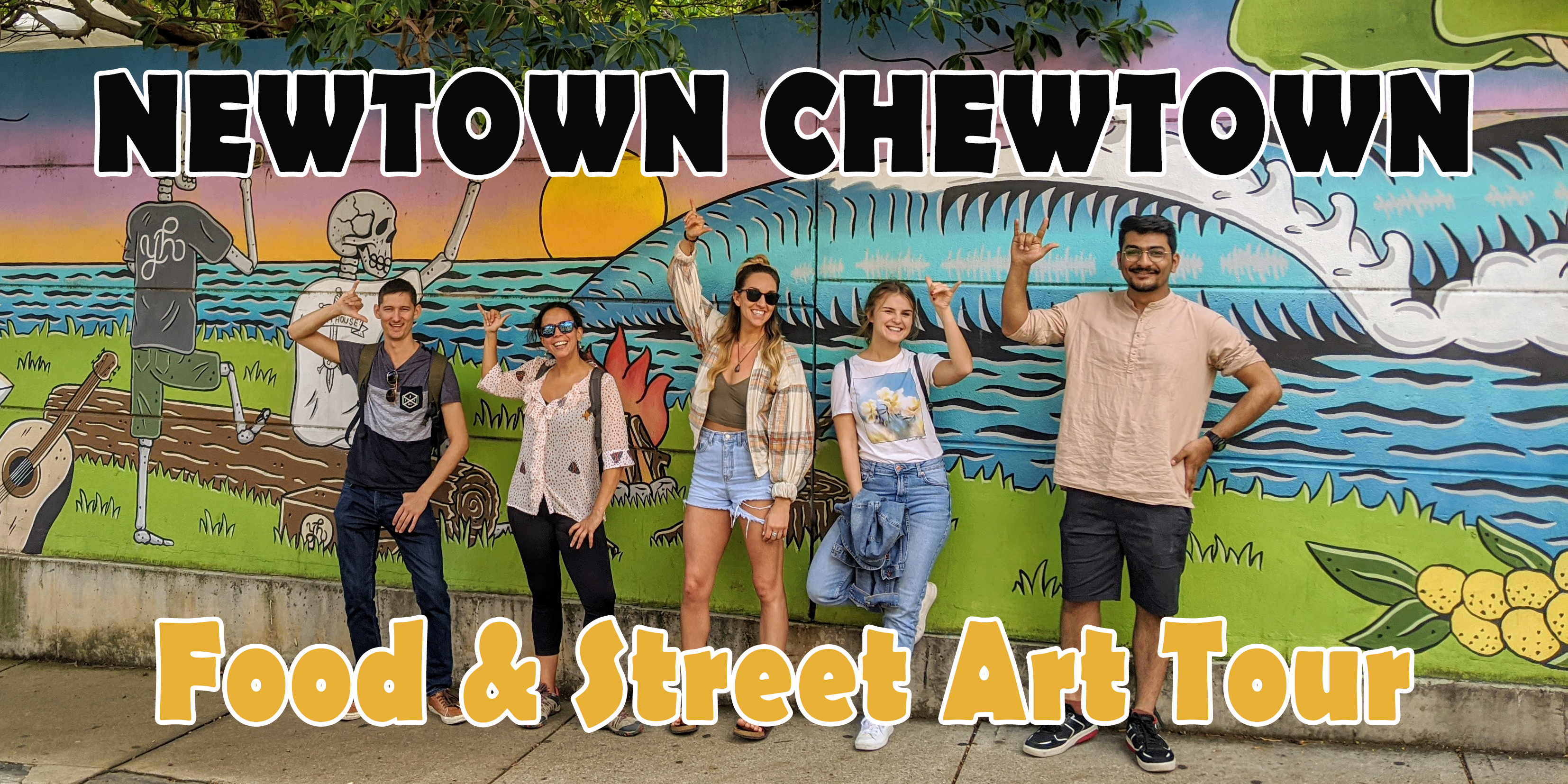 Newtown Chewtown - Food & Street Art Tour