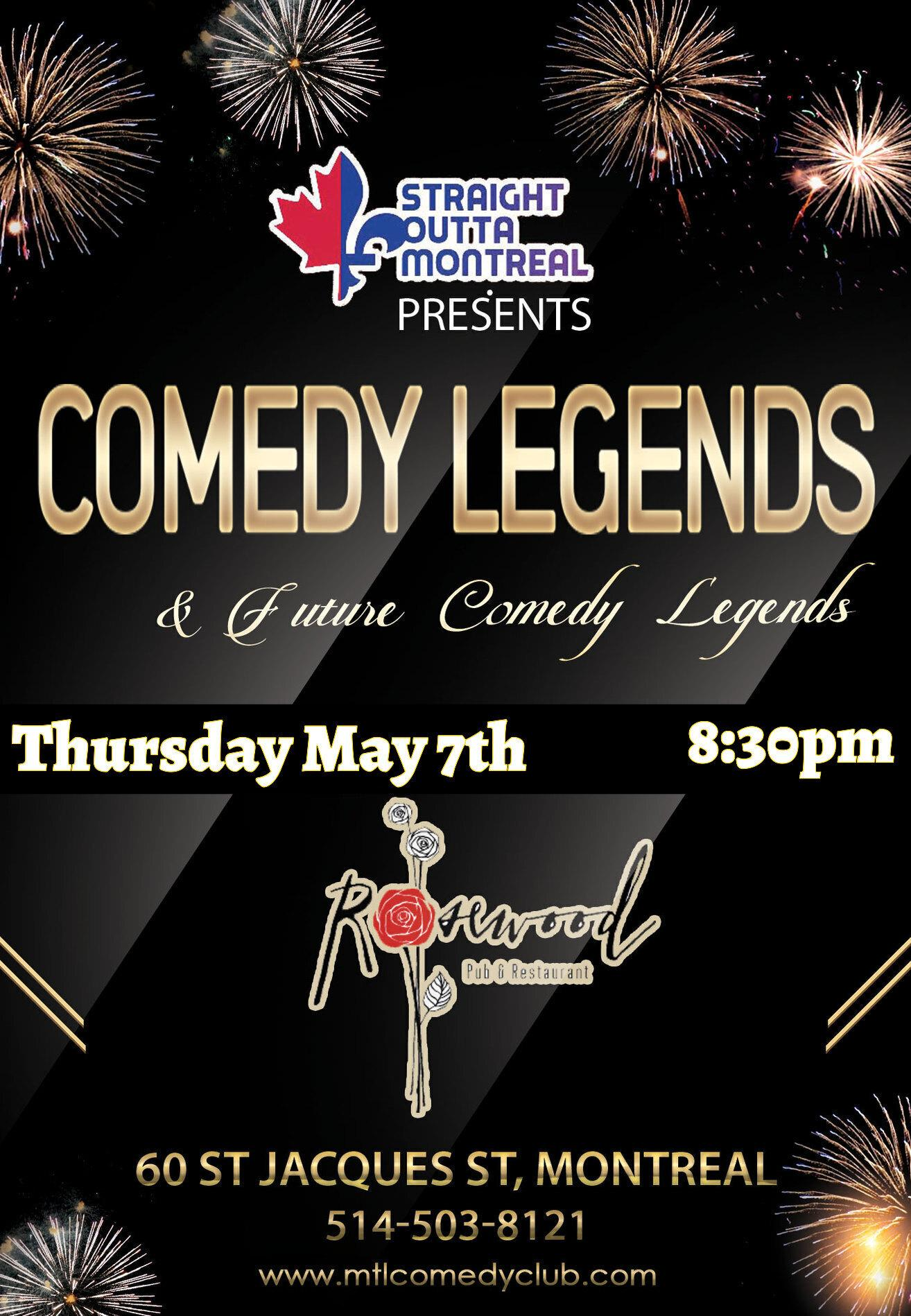 Comedy legends ( Stand Up Comedy )