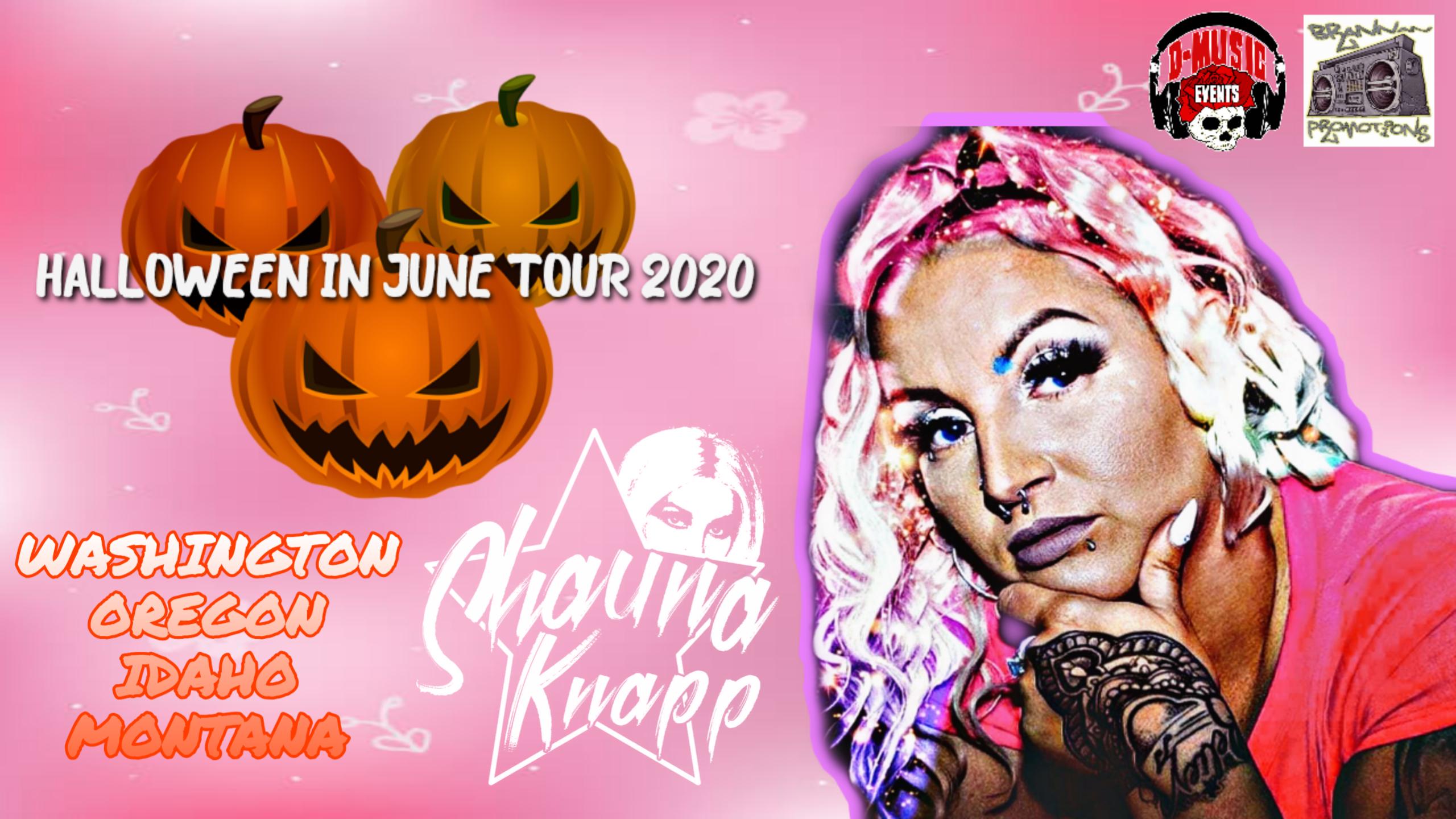 Eugene Halloween Events 2020 Shauna Knapp   City Nightclub   Eugene, OR   28 JUN 2020
