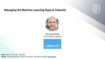 **POSTPONED**Managing the Machine Learning Hype at...