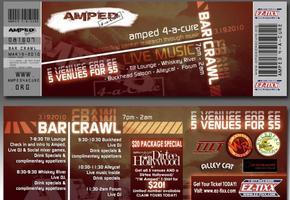 Amped 4-A-Cure, Inc. First Annual Uptown Bar Crawl