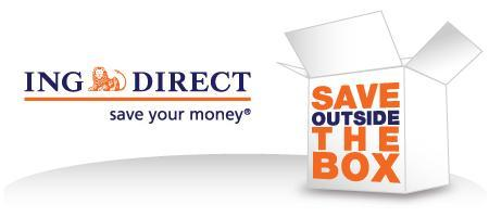 ING DIRECT Canada - SAVE OUTSIDE THE BOX