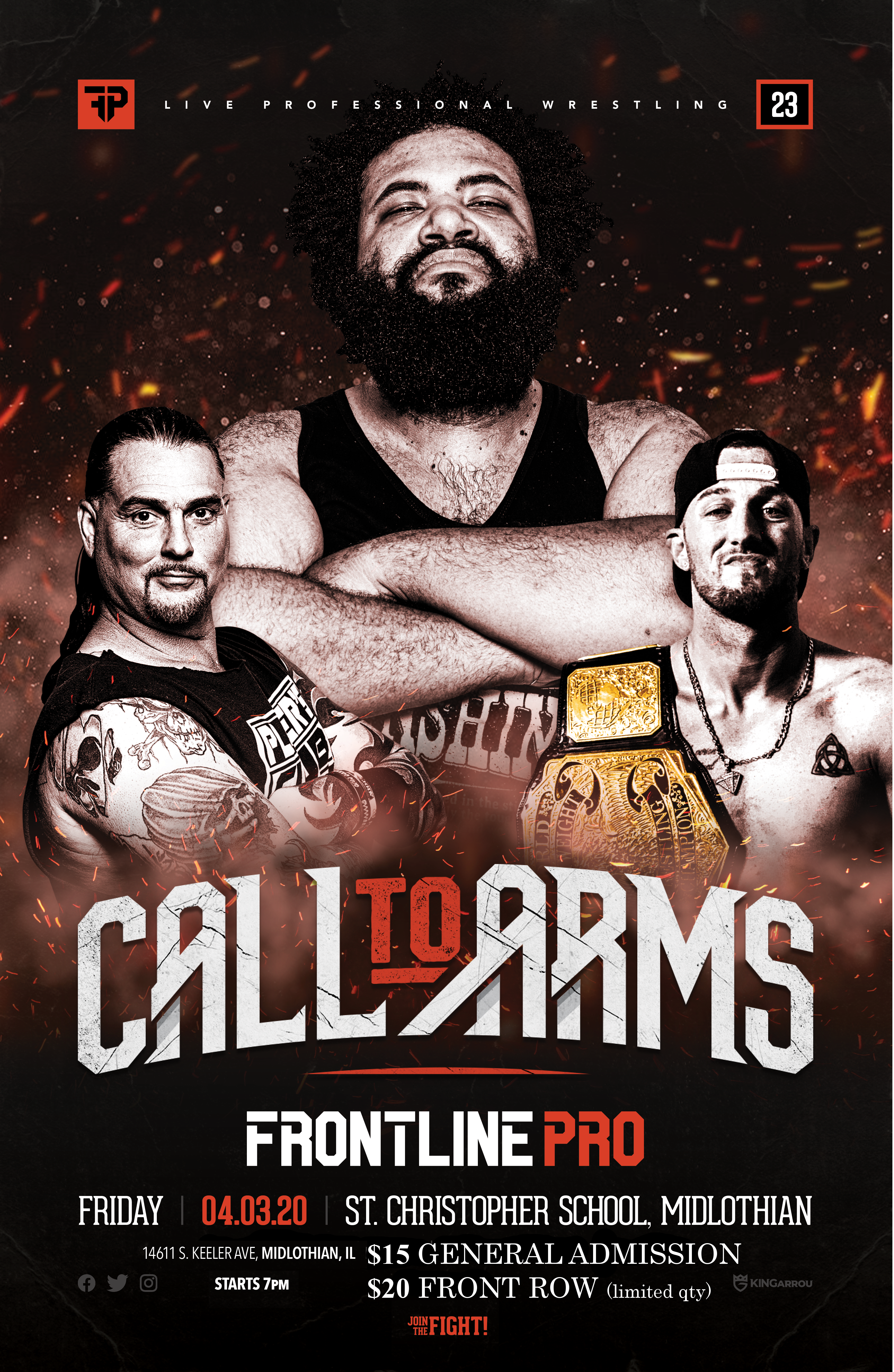 Live Wrestling - Call to Arms