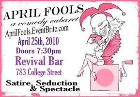 APRIL FOOLS: a comedy cabaret