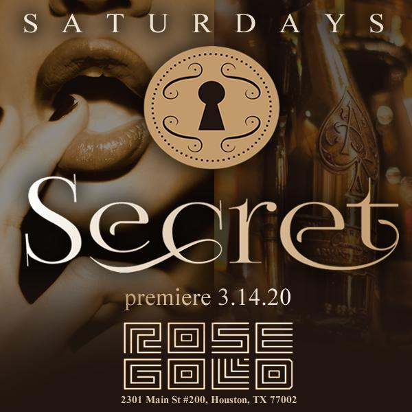 SATURDAY'S SECRET AT ROSE GOLD COCKTAIL DEN....BRINGING SEXY BACK!