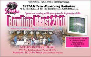 SISTAH Teens Mentoring Initiative -  Bowling Blast 2010