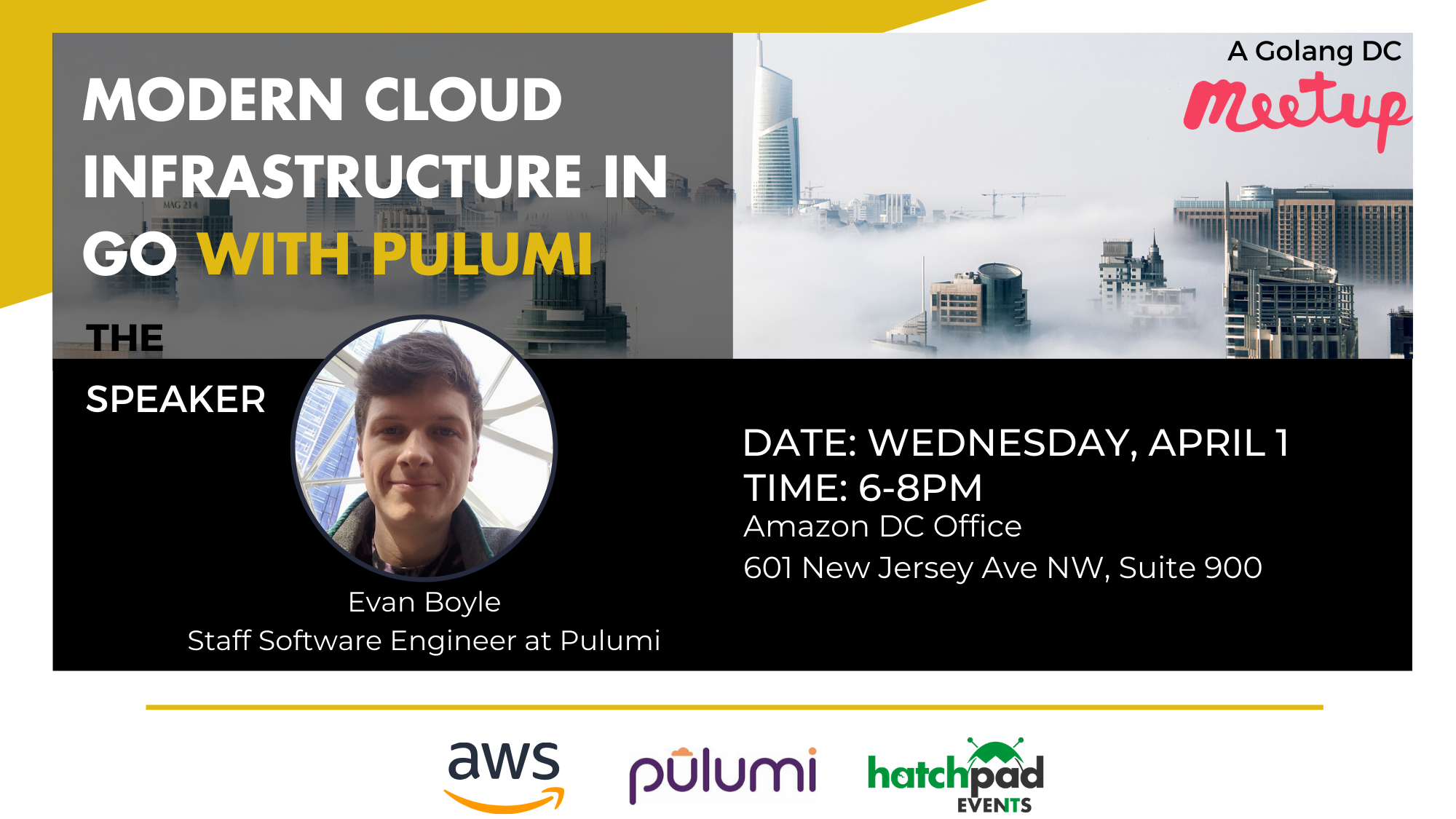 Modern Cloud Infrastructure in Go with Pulumi