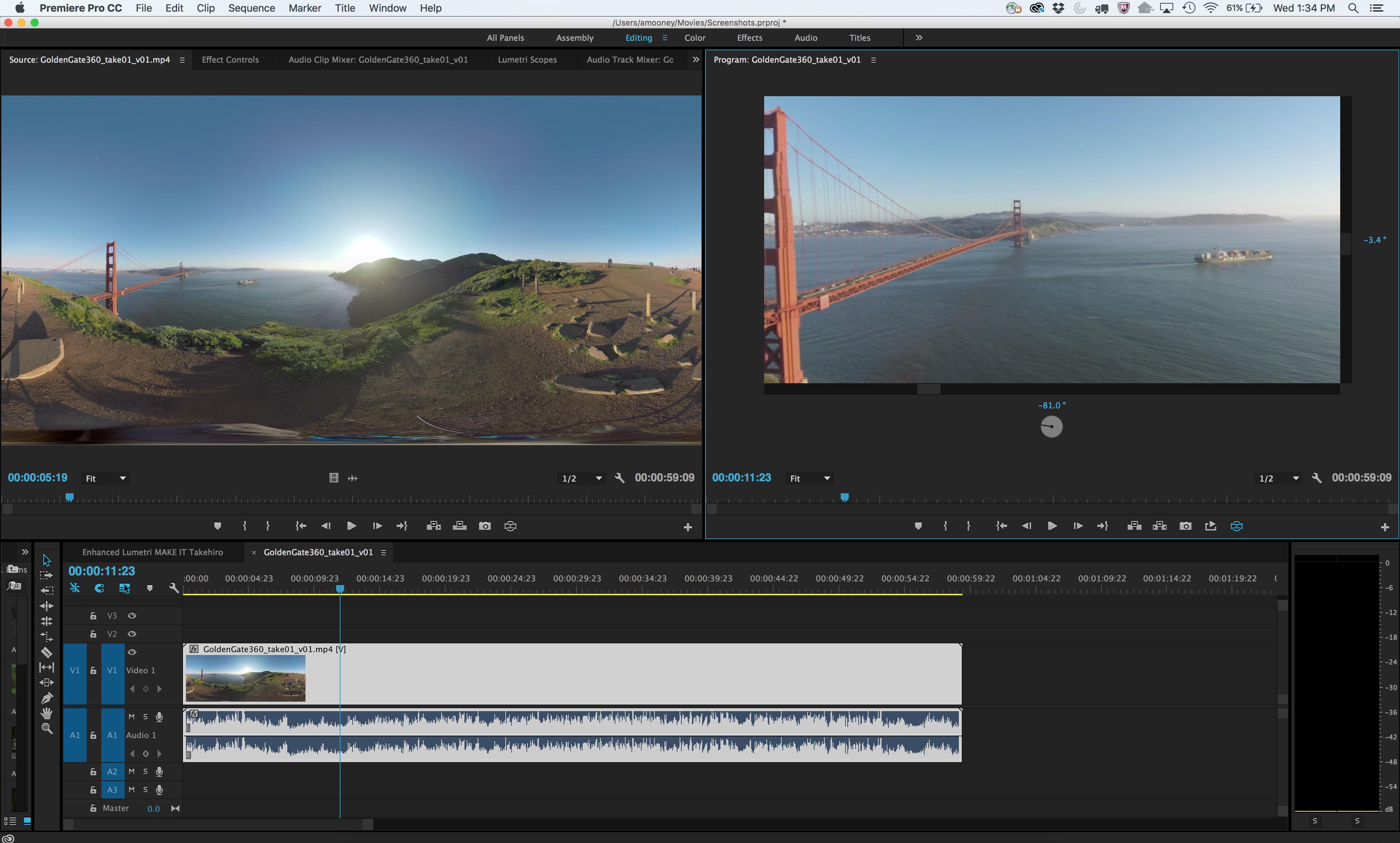 Adobe Premiere I: Editing Video (April 8th, 2020)