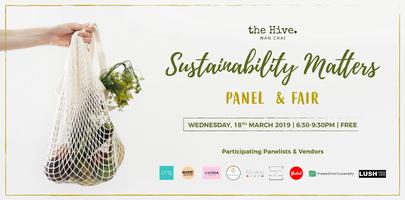 (Postponed) Sustainability Matters Panel & Fair