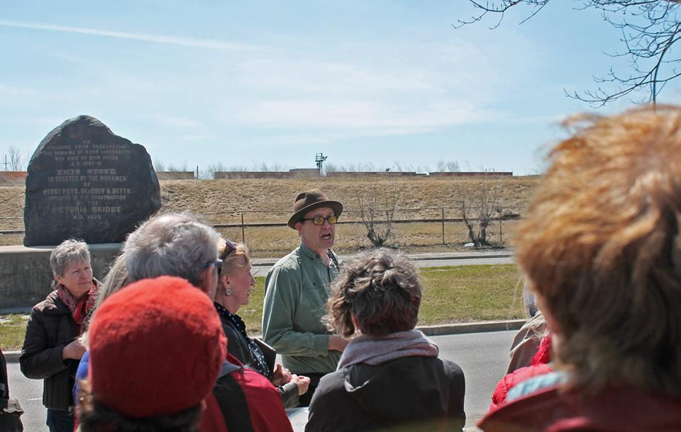 The Irish Famine in Montreal Walking Tour