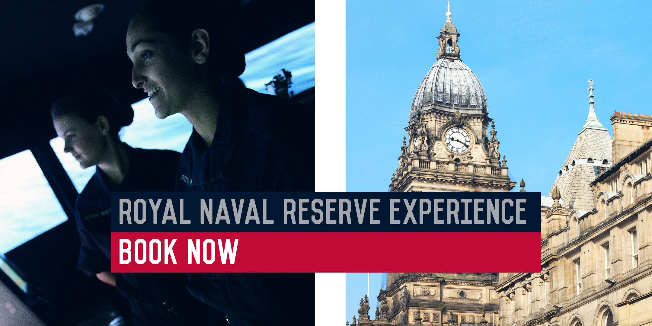 Royal Naval Reserve Experience - HMS Ceres, Leeds 26/03/20