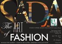 "The 2010 SADA Fashion Show: ""The ART of FASHION"""
