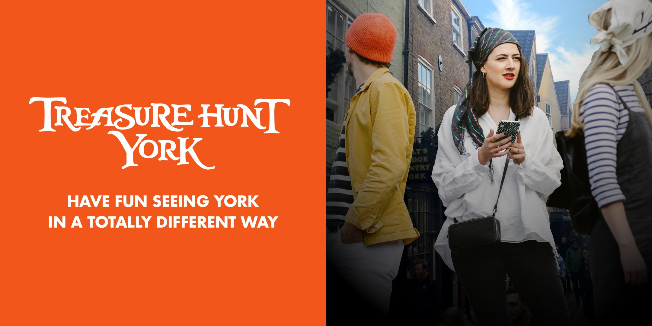 Treasure Hunt York - Gardens and Guildhalls - 2½ hours