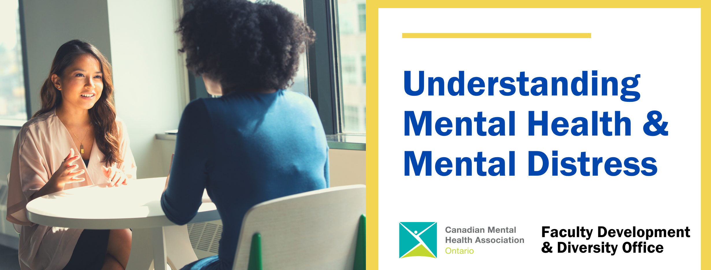 Understanding Mental Health & Mental Distress for Faculty and Staff