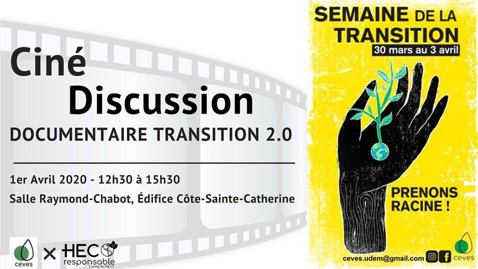 Ciné-discussion: In transition 2.0