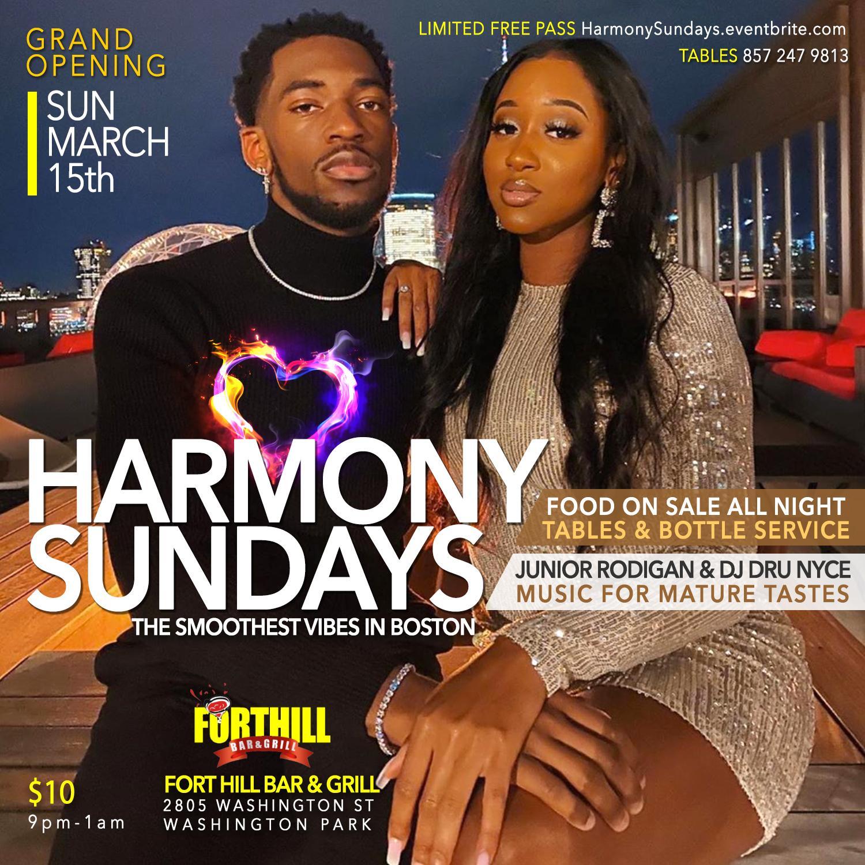 HARMONY SUNDAYS at Fort Hill Bar & Grill
