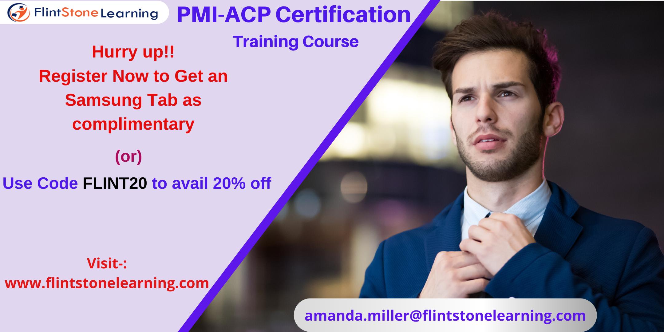 PMI-ACP Certification Training Course in Elizabeth, NJ