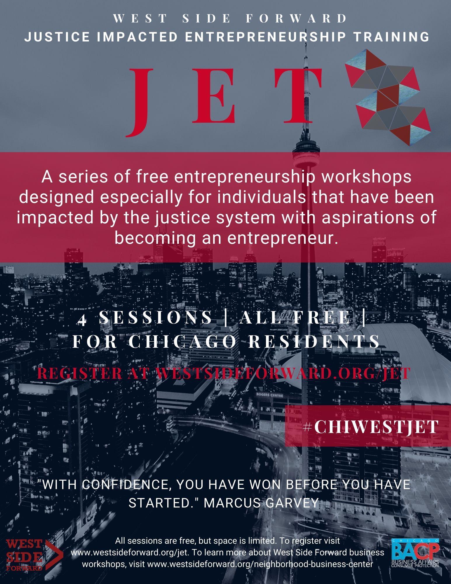 Justice Impacted Entrepreneurship Training