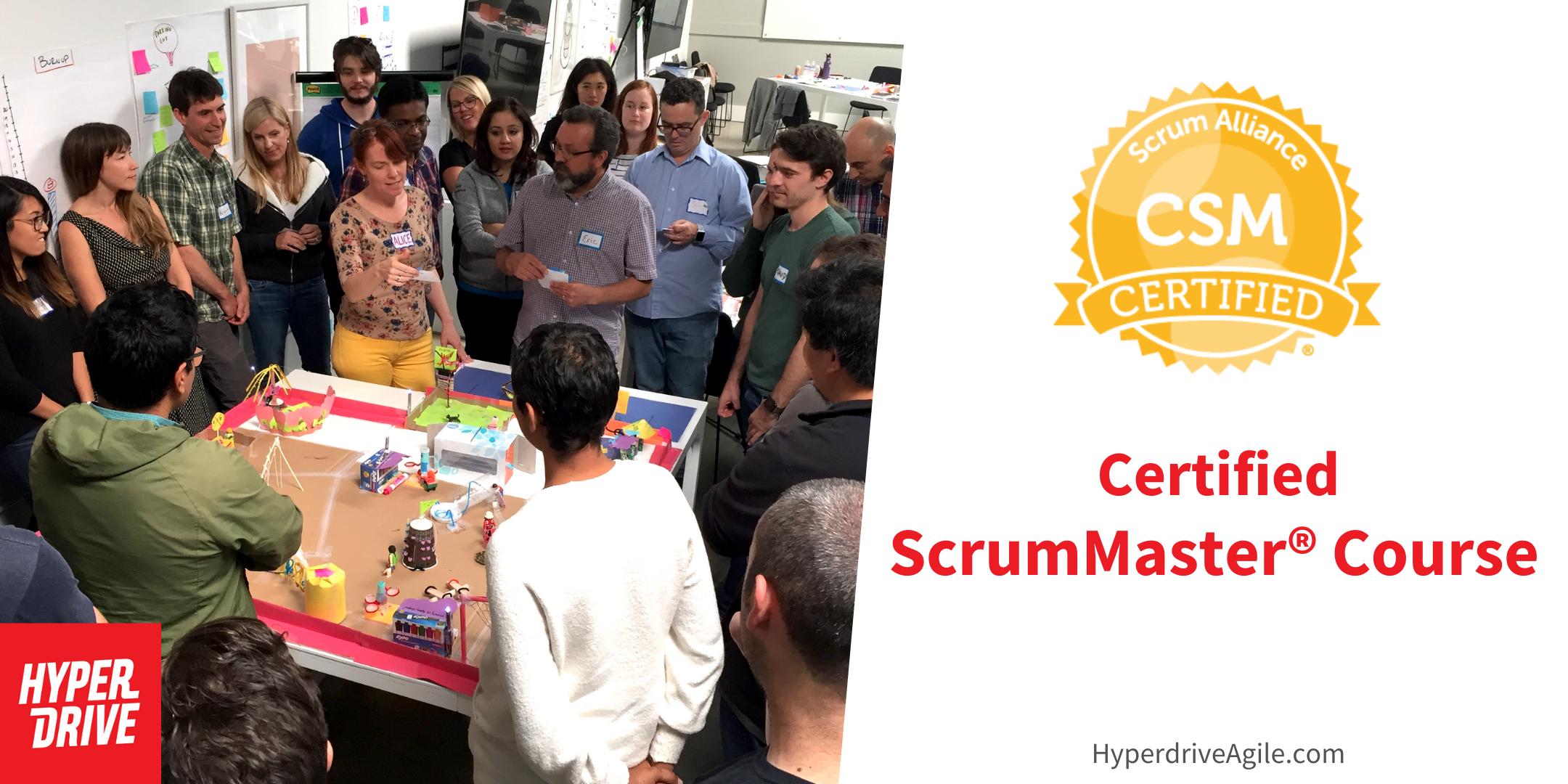 Certified ScrumMaster® Course (CSM) - San Francisco, CA