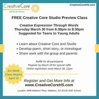 Creative Core Studio Preview Class (FREE)