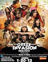 GREEK INVASION MIAMI 1-20-13 MLK WEEKEND