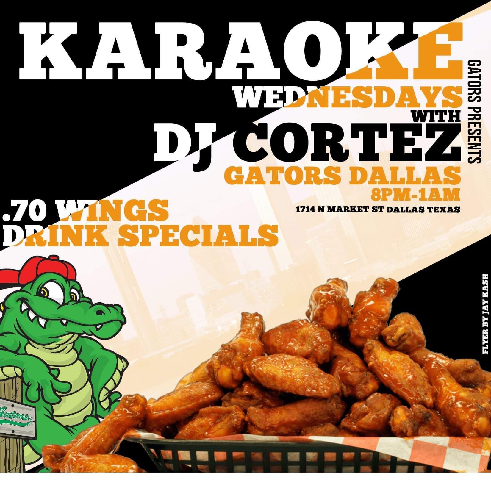 Karaoke Wednesday Wednesday!