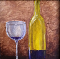 Two-Hour Painting Class + Wine