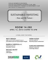 Sustainable Investing: Now and the Future