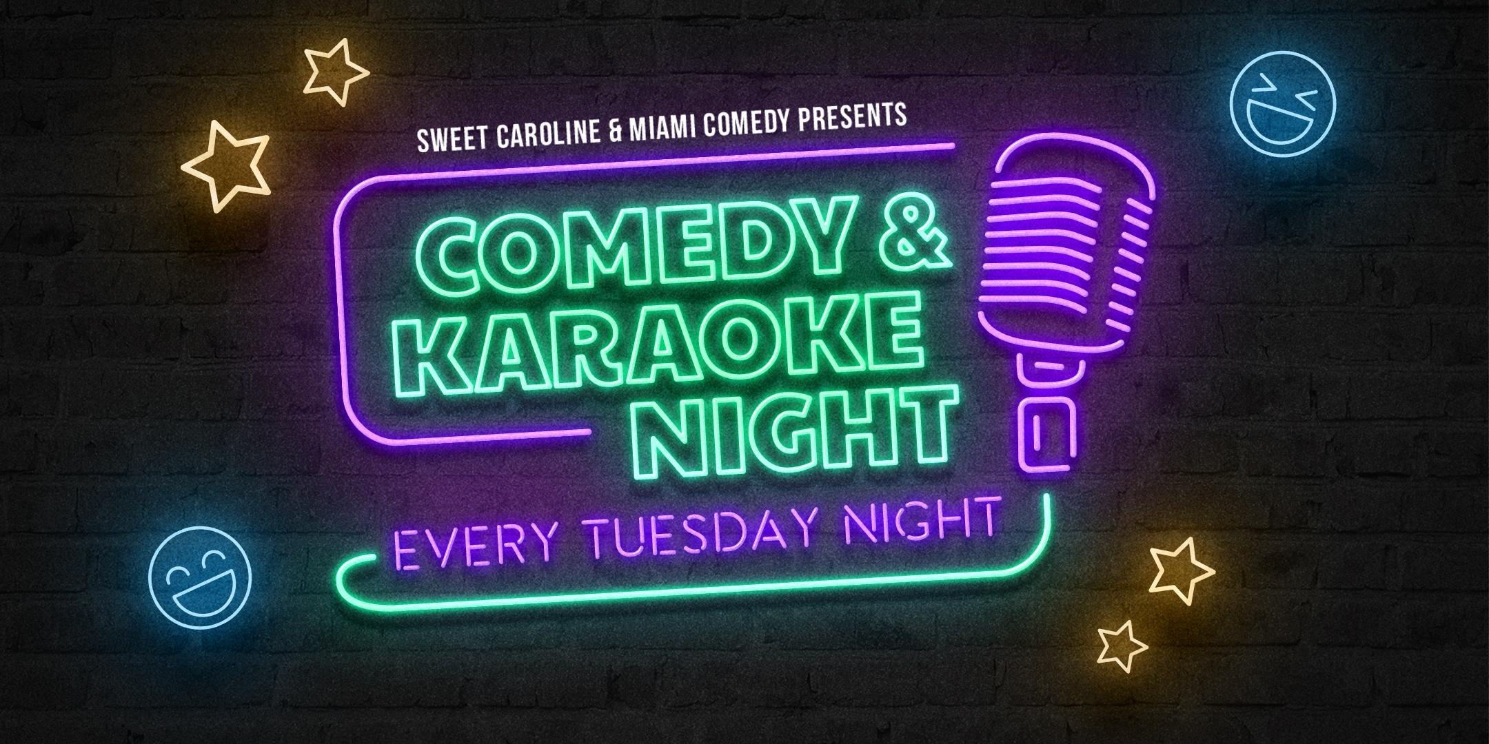 Comedy & Karaoke Night at Sweet Caroline!