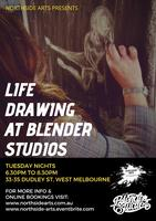 Tutored Life drawing at Blender Studios