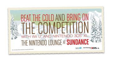 The Nintendo Lounge at Sundance