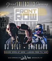 FRONT ROW FRIDAYS @ LA VUE W/ DJ SELF  & DJ SPINKING...