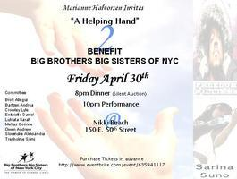 A Helping Hand 2 Benefit Big Brothers Big Sisters