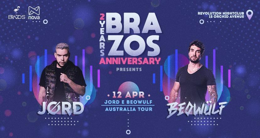 Brazos 2 Years Presents ✭ JØRD & Beowülf
