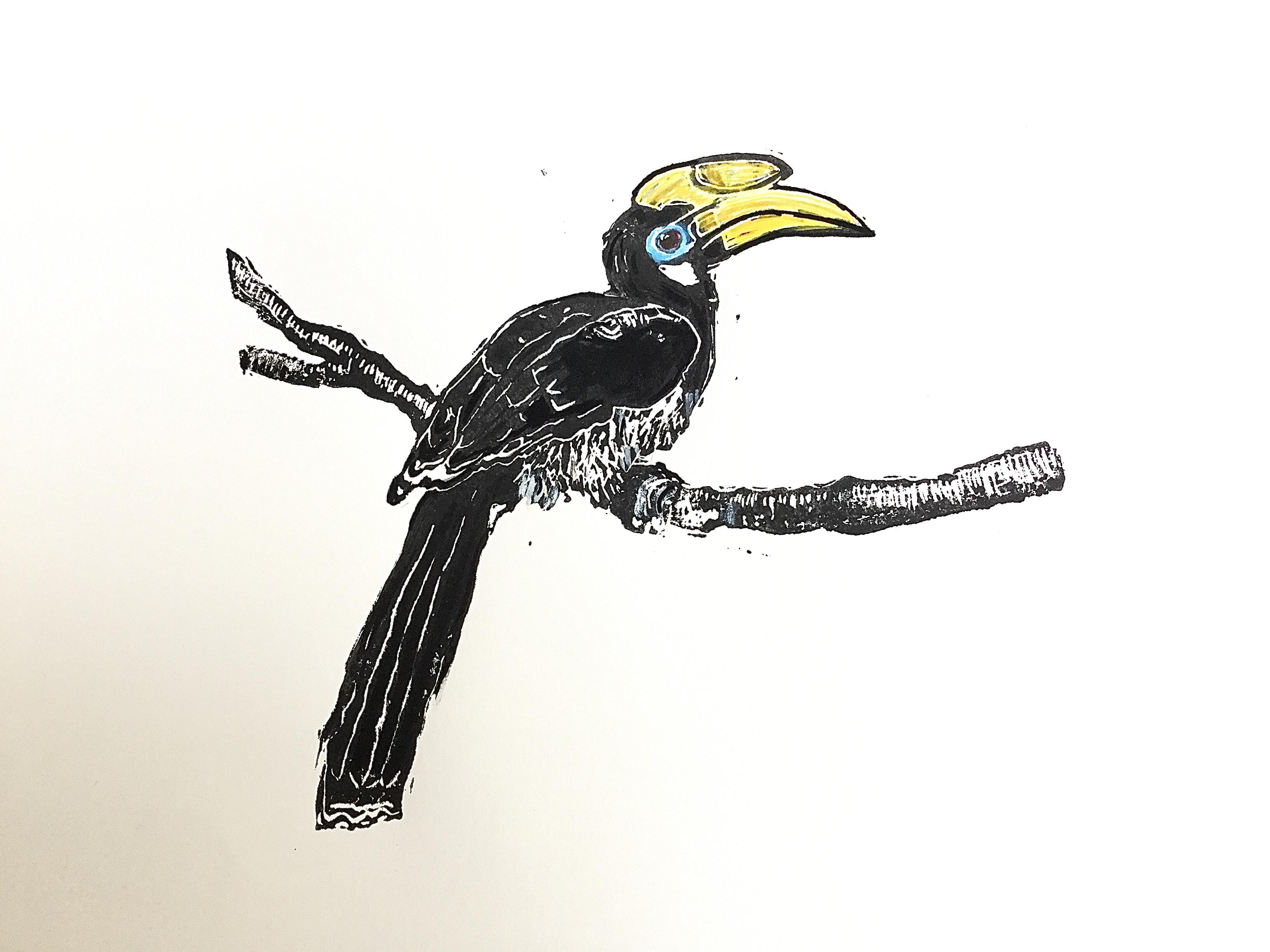 Linocut Printmaking for beginners - cards and prints - Three week Course