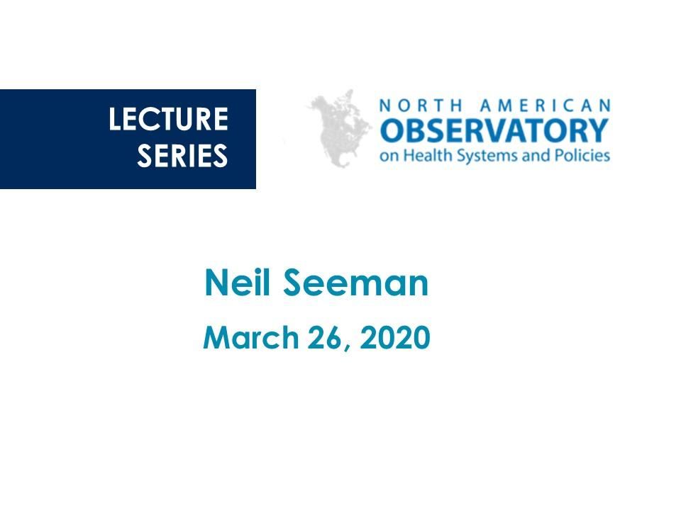NAO Lecture: Neil Seeman