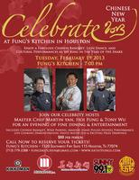 Fung's Kitchen Chinese New Year Celebration Tues 2/19/13