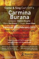 Come & Sing Carmina Burana