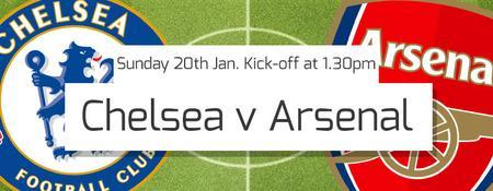 Chelsea v Arsenal LIVE