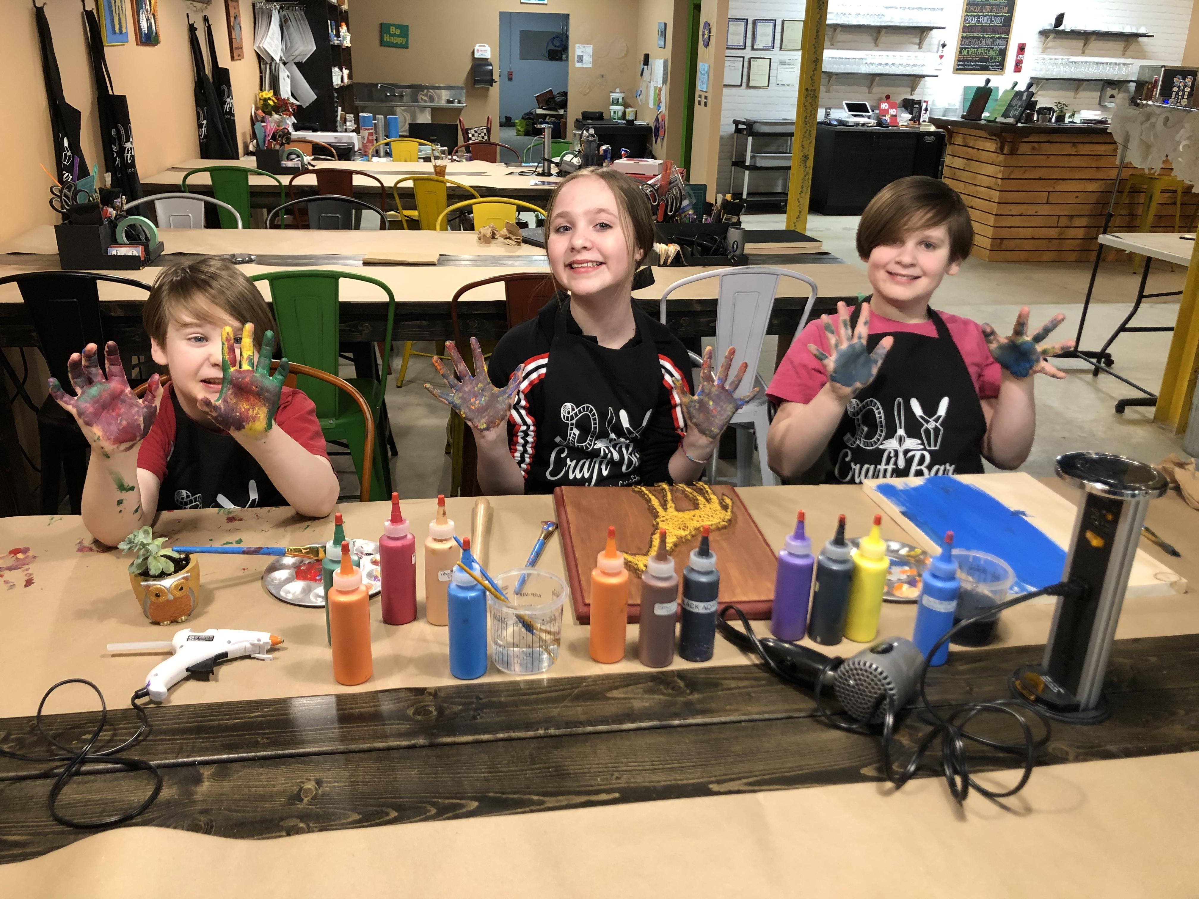 Spring Break Classes at DIY Craft Bar