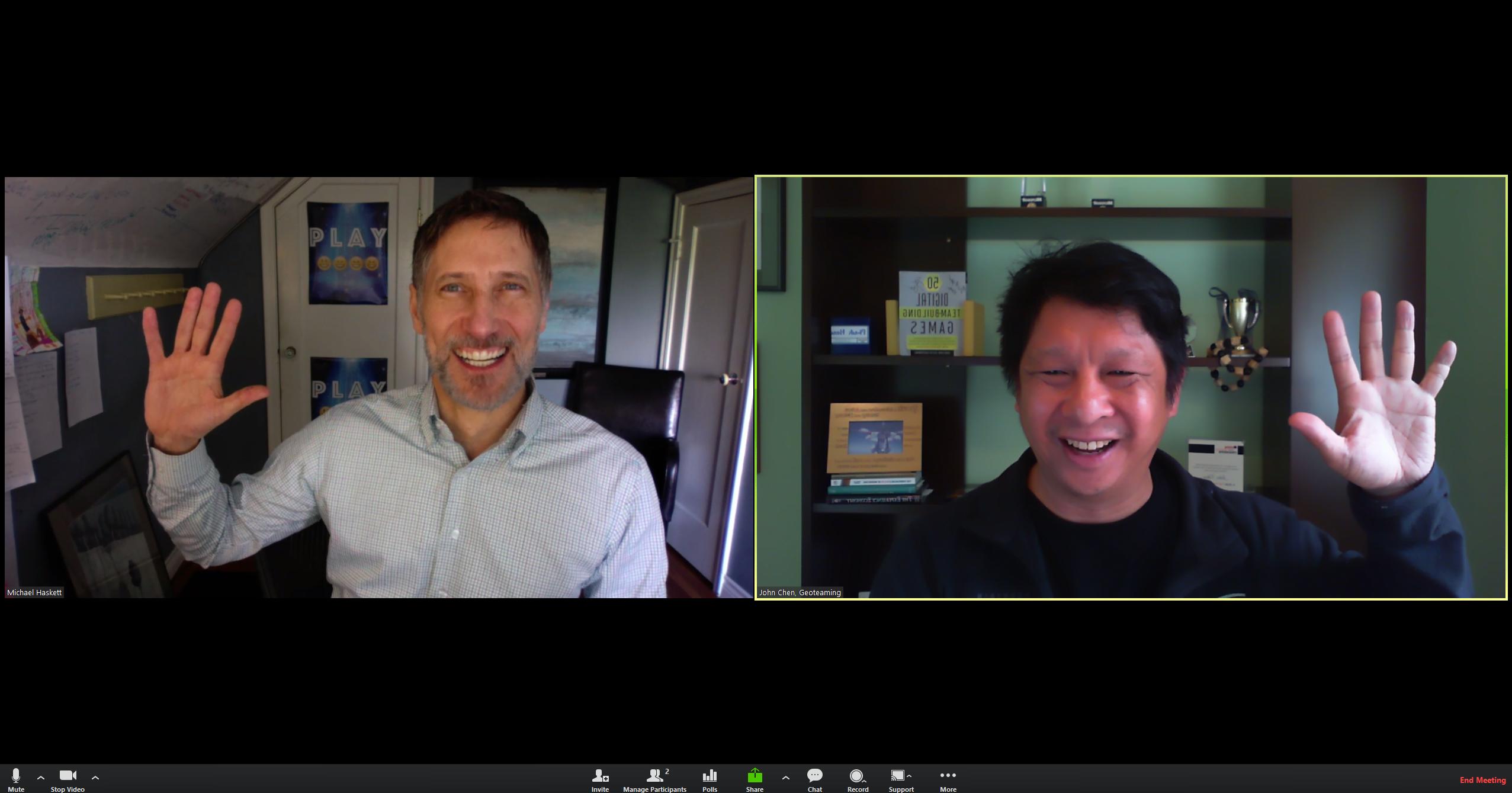 ONLINE Digital Engagement Strategies w/John Chen & Roger Haskett #COVID-19