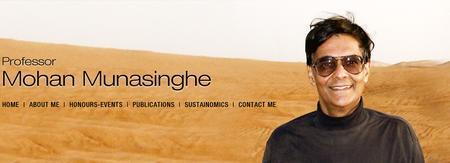 Sustaining our Future - Professor Mohan Munasinghe