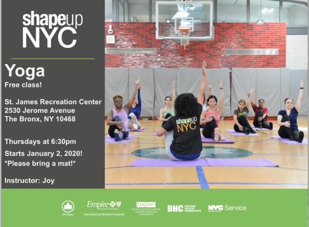FREE Bronx Yoga