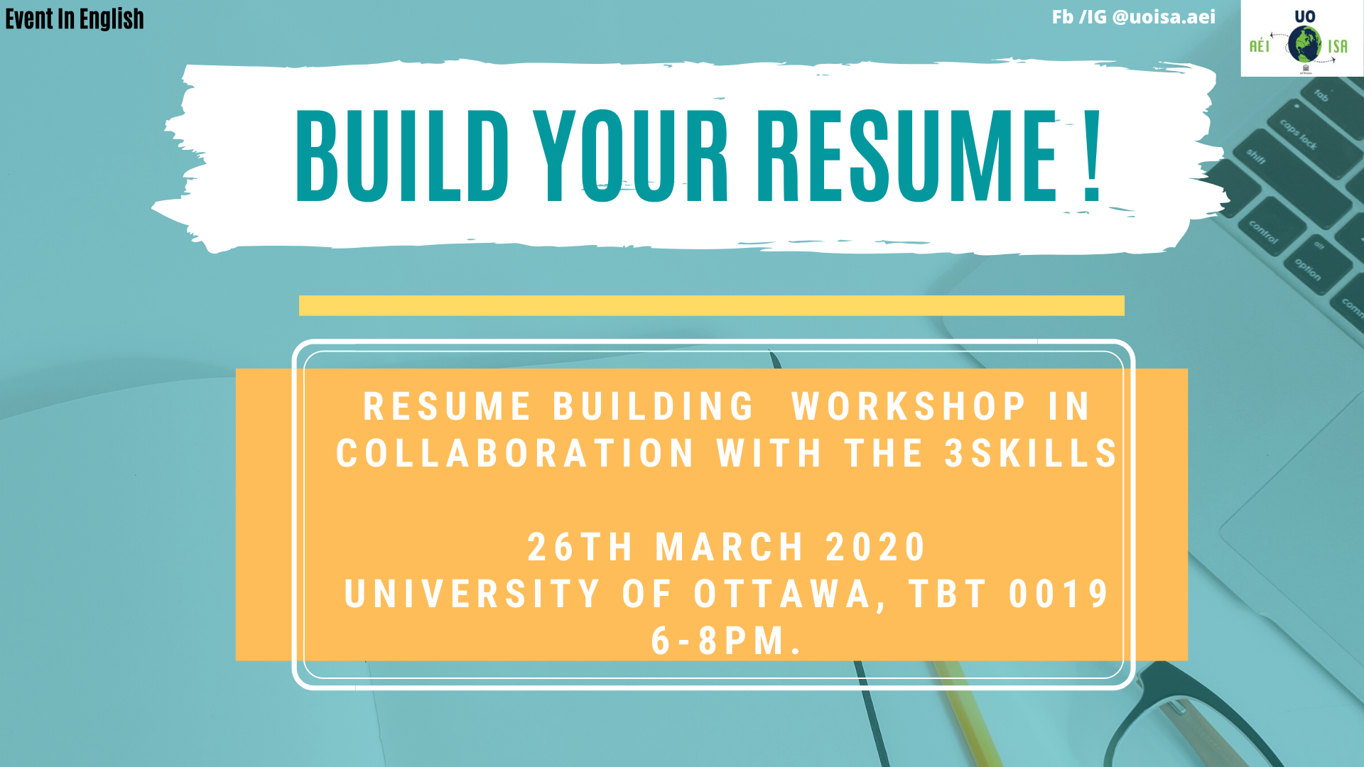 Free Resume Building Workshop By The3skills 26 Mar 2020