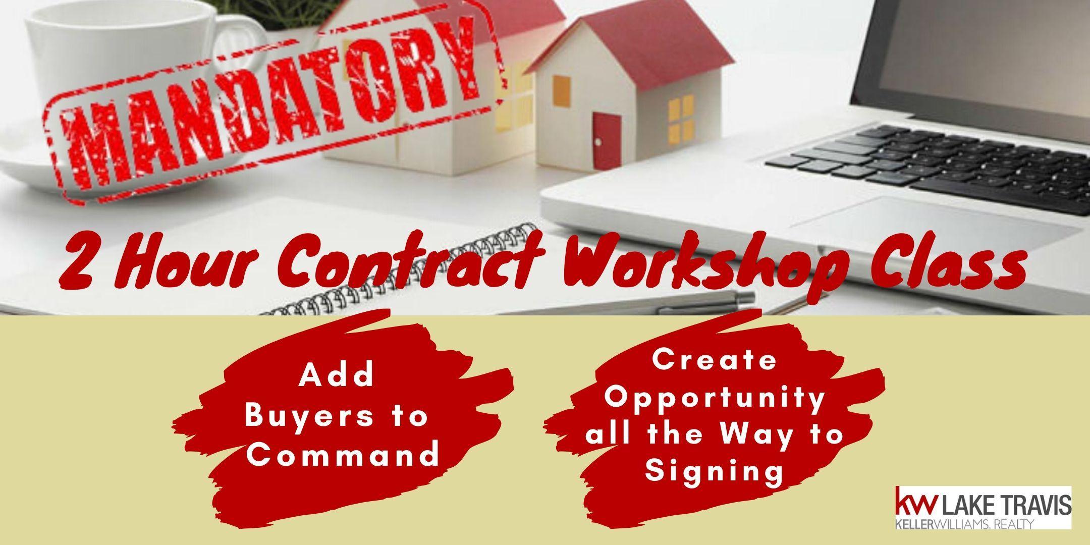 2 Hour Contract Workshop Class